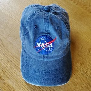 Denim NASA baseball cap, great shape, OS